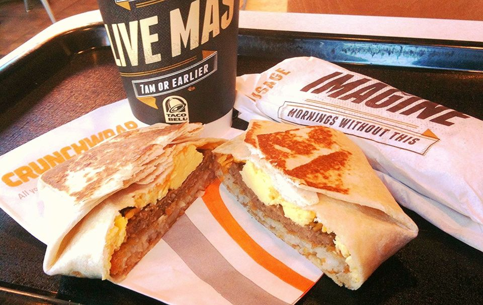 Taco Bell wants to be the fastest fast food around -- at least when it comes to switching over to cage-free eggs. The company