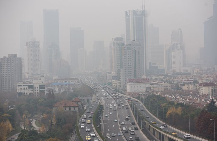 "Last week, hazardous pollution levels in Beijing triggered the capital's first ""red alert,"" meaning vehicles were ordered off"