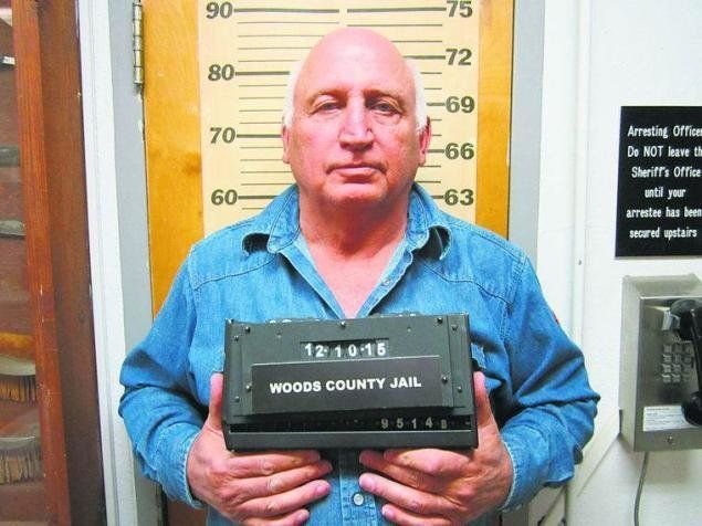 John Parsley, 62, faces two felony counts after allegedly driving his truck into a hotel's lobby.
