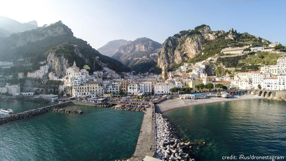Amalfi Bay, Italy.