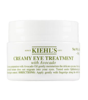 "Creamy Eye Treatment with Avocado, $28.50 at <a href=""http://www.kiehls.com/creamy-eye-treatment-with-avocado/3700194714413.h"