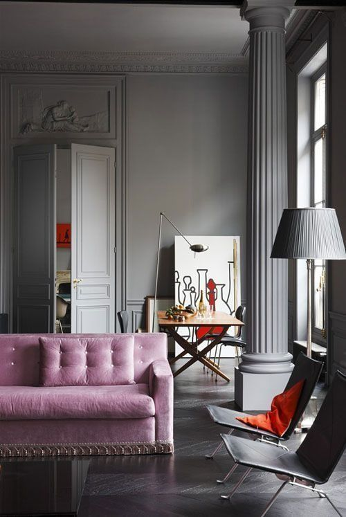 Gray Rooms 13 gray rooms that are fifty shades of gorgeous | huffpost