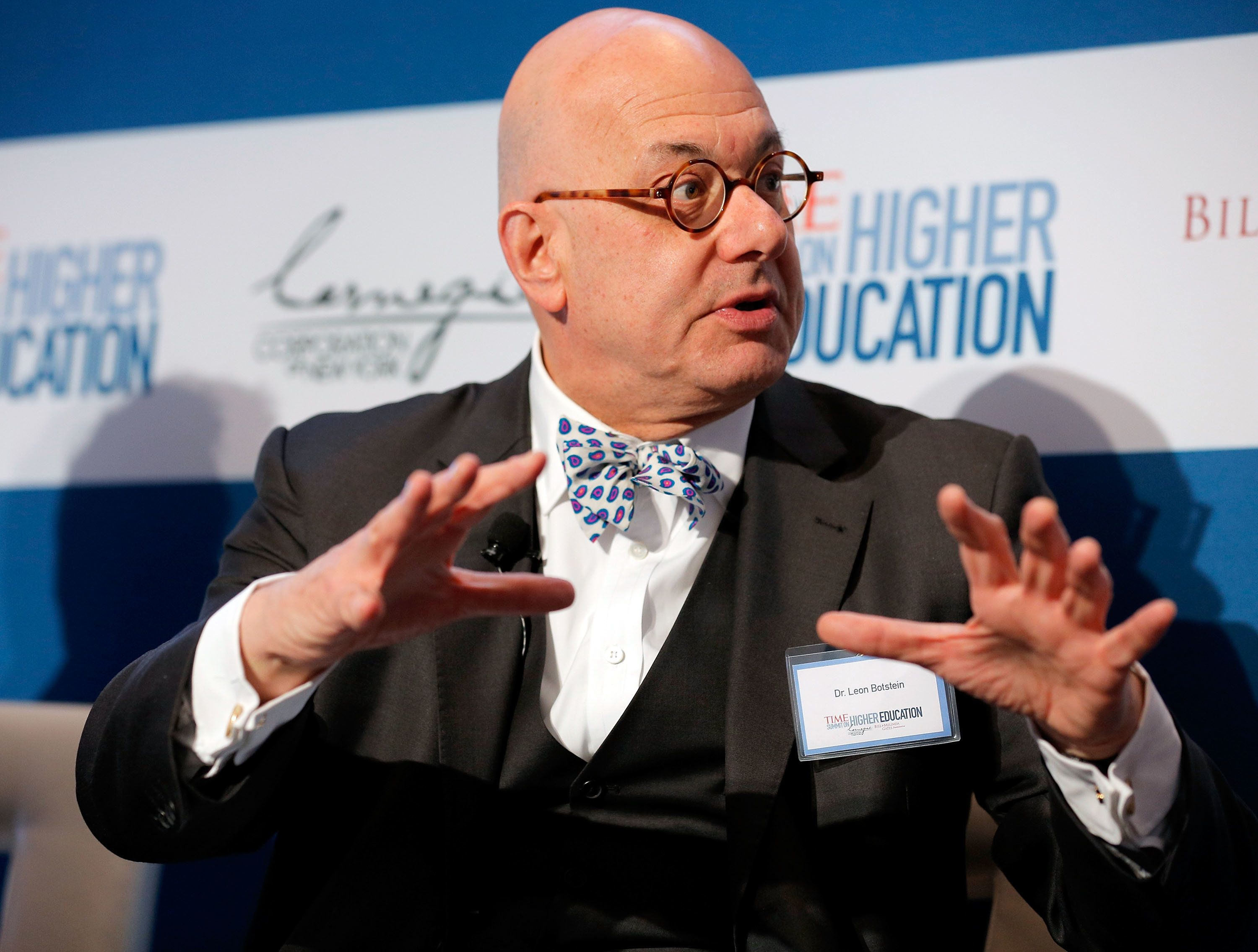 Remarks Bard College President Leon Botstein, pictured in 2012, allegedly made to a group of students have resulted in an add