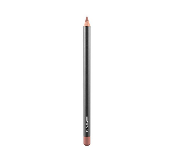 "MAC Lip Pencil in Spice, $16.50 at <a href=""http://www.maccosmetics.com/product/13852/340/Products/Makeup/Lips/Lip-Pencil/Lip"