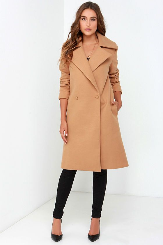 A Guide To Classic Camel Coats Because Everyone Needs One