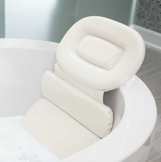 "Luxury Spa Bath Pillow, $19.99 at <a href=""http://www.bedbathandbeyond.com/store/product/luxury-spa-bath-pillow/1044364212?ca"
