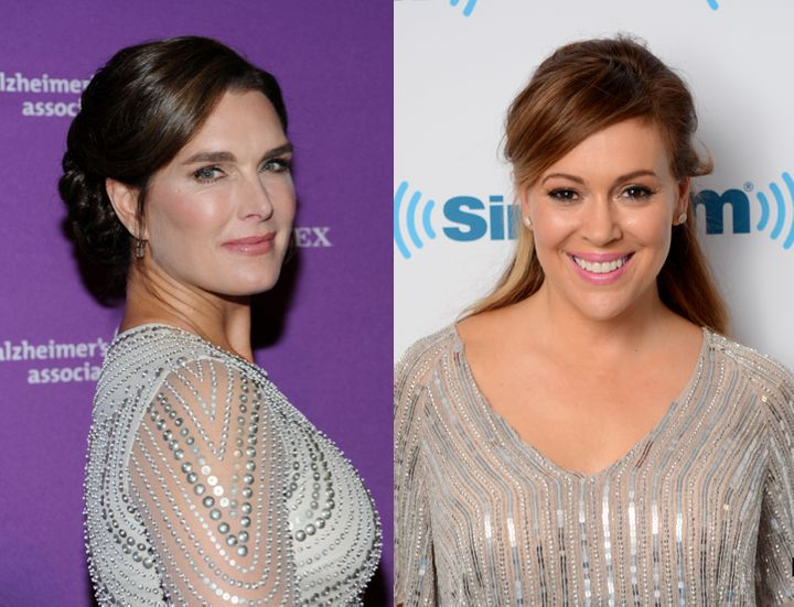 Brooke Shields and Alyssa Milano are among WEN Hair Care's celebrity clients.