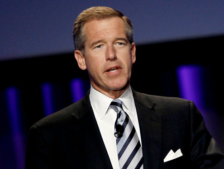 Brian Williams returned to NBC on Tuesday for the first time since his suspension.