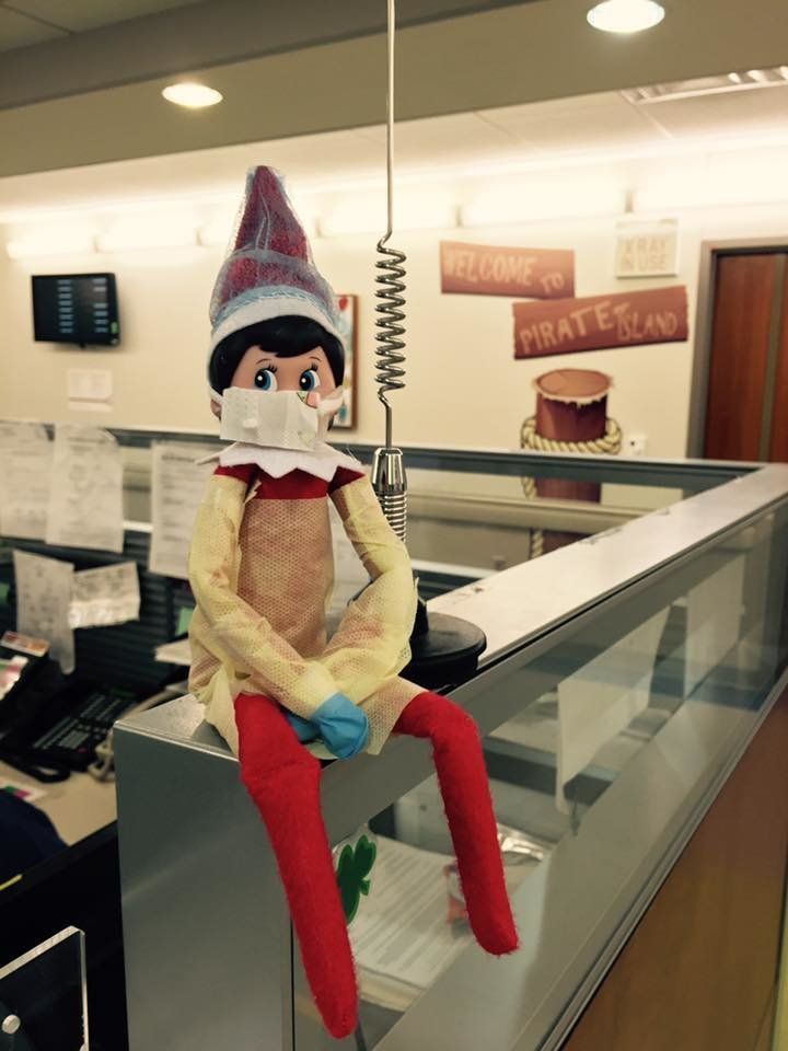 This Elf On The Shelf Brightens Kids Days In The Hospital