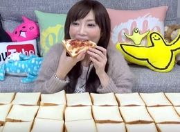 We Can't Stop Watching This Woman Eat 100 Slices Of Bread In One Sitting