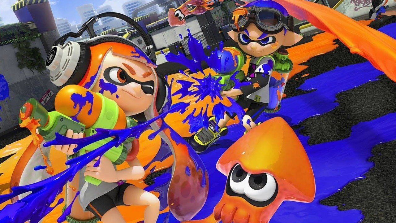 """The award-winning """"Splatoon"""" lets you play as a girl or boy character from the outset."""