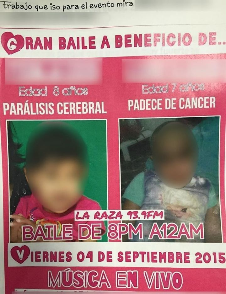 Authorities said that no illness was found when Garcia's daughter, seen right, was medically evaluated during the course of t
