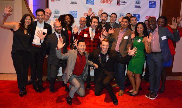 Open Finance and Citi employees celebrate