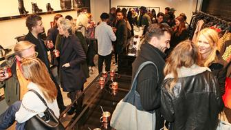 LONDON, ENGLAND - NOVEMBER 26:  A general view of the atmosphere at the McQ Spitalfields launch on November 26, 2015 in London, England.  (Photo by David M. Benett/Dave Benett/Getty Images for McQ Alexander McQueen)