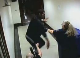 DA Tackles Defendant Running From Courtroom