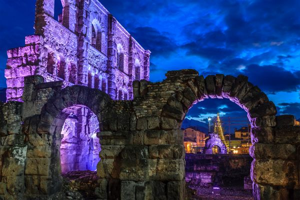 """The traditional Christmas village of Aosta, called the <a href=""""http://www.lovevda.it/en/database/2/craft-fairs-markets/aosta"""