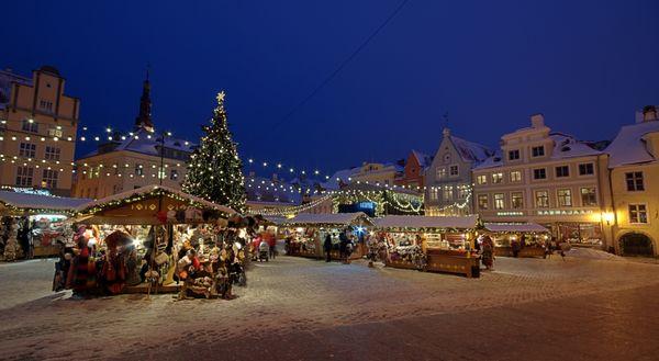 "Held in <a href=""http://www.visitestonia.com/en/tallinn-christmas-market"">Town Hall Square in Tallinn</a>, this Estonian Chri"
