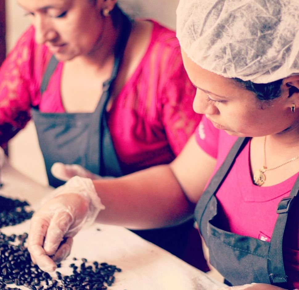 Vega mostly works with women-owned farms that grow their beans organically and export less than 500 to 1,000 pounds a year.