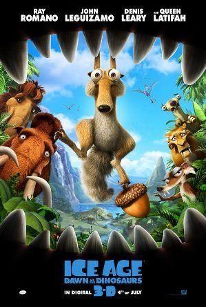 """Ice Age: Dawn of the Dinosaurs"" (2009), $886.7 MillionWorldwide"