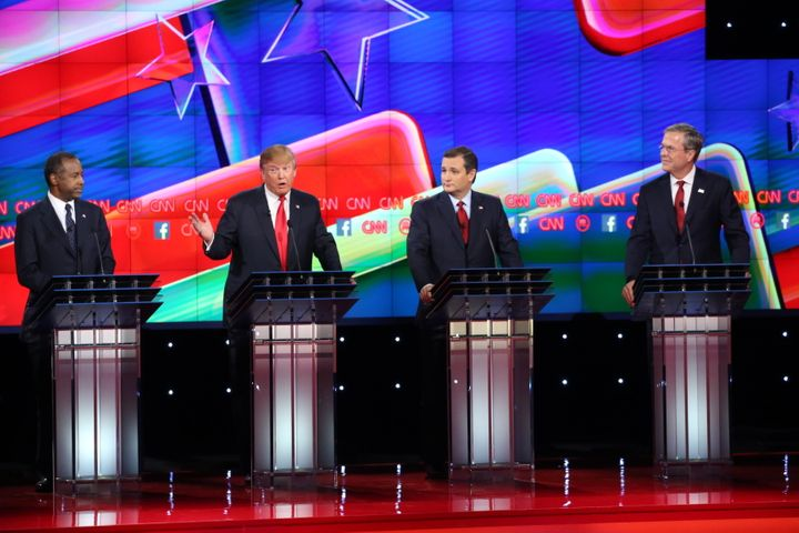 Climate change wasn't a topic of conversation during Tuesday night's GOP debate.