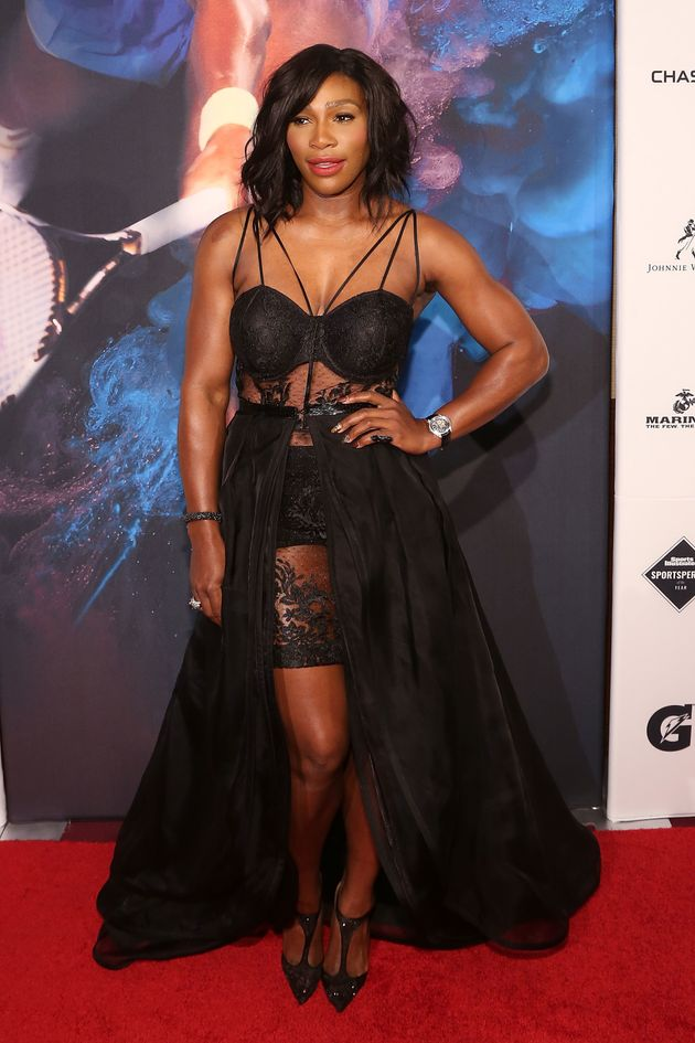 Serena Williams' Sheer Dress Is A Grand Slam   Huffington Post