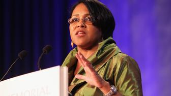 WASHINGTON, DC - OCTOBER 15:  Rosalind Brewer, Executive Vice President and President of Walmart East speaks during the Martin Luther King, Jr. Memorial Dream Gala at Hilton Hotel on October 15, 2011 in Washington, DC.  (Photo by Paul Morigi/WireImage for Tommy Hilfiger)