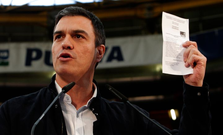Leader of Spanish Socialist Party, PedroSanchez has seen diminished support, as voters have flocked to newcomers Podemo