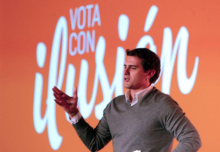 Albert Rivera'sCiudadanos looks to capitalize onan undecidedand wide-open electorate.
