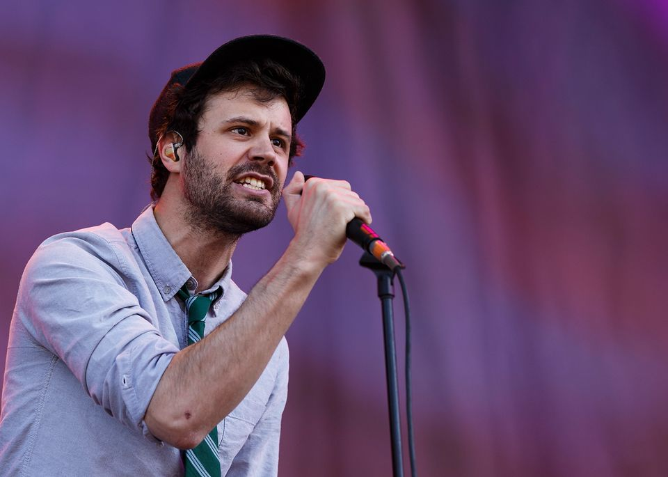 """Michael Angelakos, the lead singer of the band Passion Pit,&nbsp;<a href=""""https://www.huffpost.com/entry/passion-pit-frontman"""