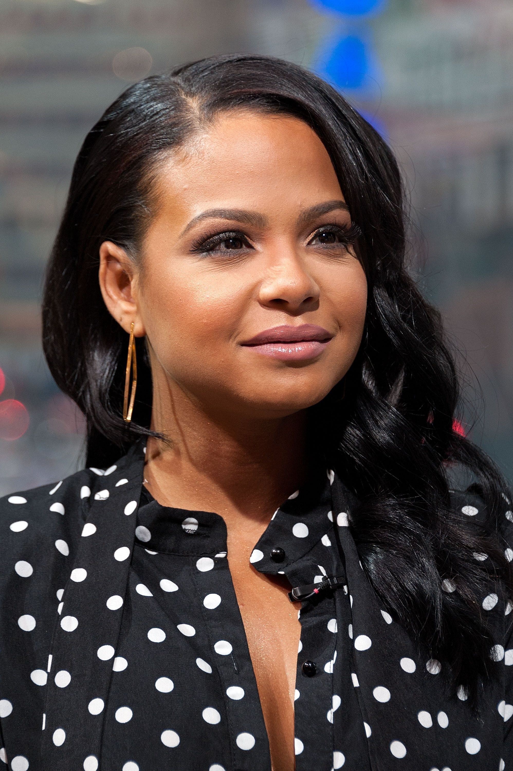 NEW YORK, NY - DECEMBER 11:  Christina Milian visits 'Extra' at their New York studios at H&M in Times Square on December 11, 2015 in New York City.  (Photo by D Dipasupil/Getty Images for Extra)
