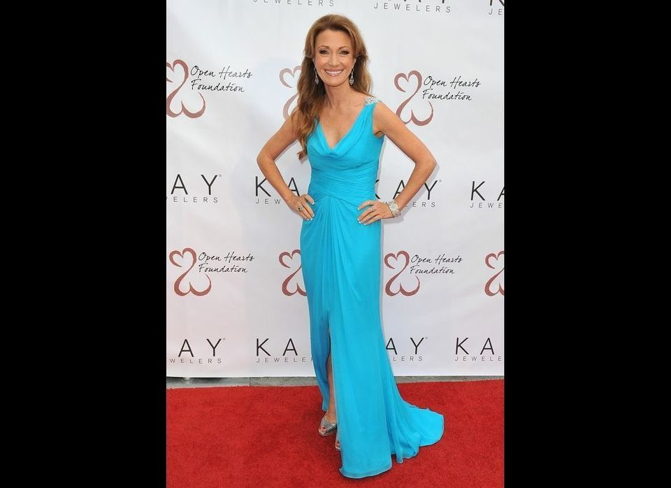 Jane Seymour, always the picture of beauty, grace and poise.  Photo courtesy of Open Hearts Foundation
