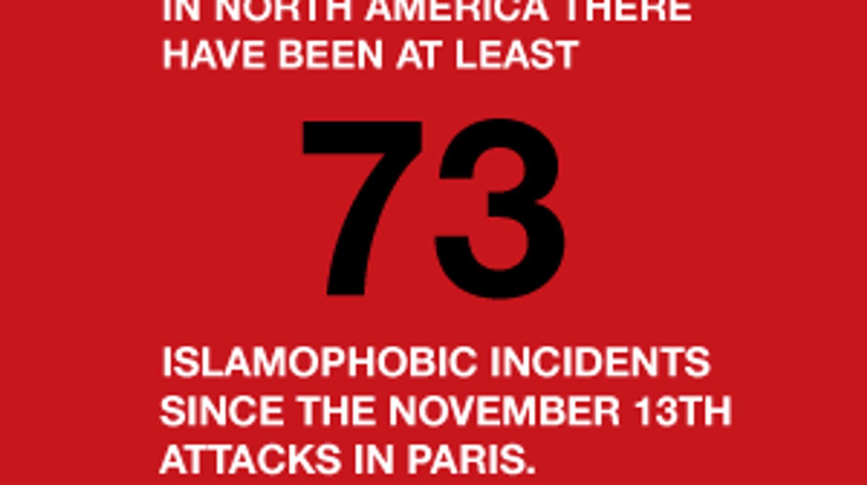 A Running List Of Shameful Islamophobic Acts Since The Paris