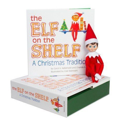 "<i><a href=""http://www.target.com/p/the-elf-on-the-shelf-a-christmas-tradition-includes-blue-eyed-boy-scout-elf/-/A-13740548?"