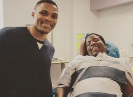 Westbrook Snuck Into A Hospital To Meet A Drive-By Shooting Victim
