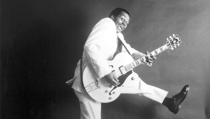 Music legend Chuck Berry penned a great number of hits in the 1950s and '60s that influenced generations of r