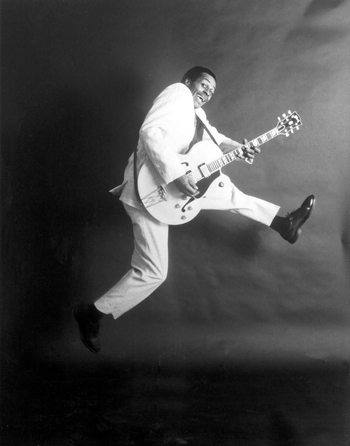 Music legend ChuckBerry penned a great number of hits in the 1950s and '60sthat influenced generations of rock groups, including The Beatles.