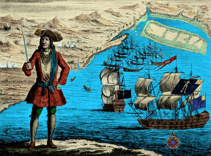 Captain Bartholomew Roberts, aka Black Bart, was one of the most successful buccaneers of the Caribbean.