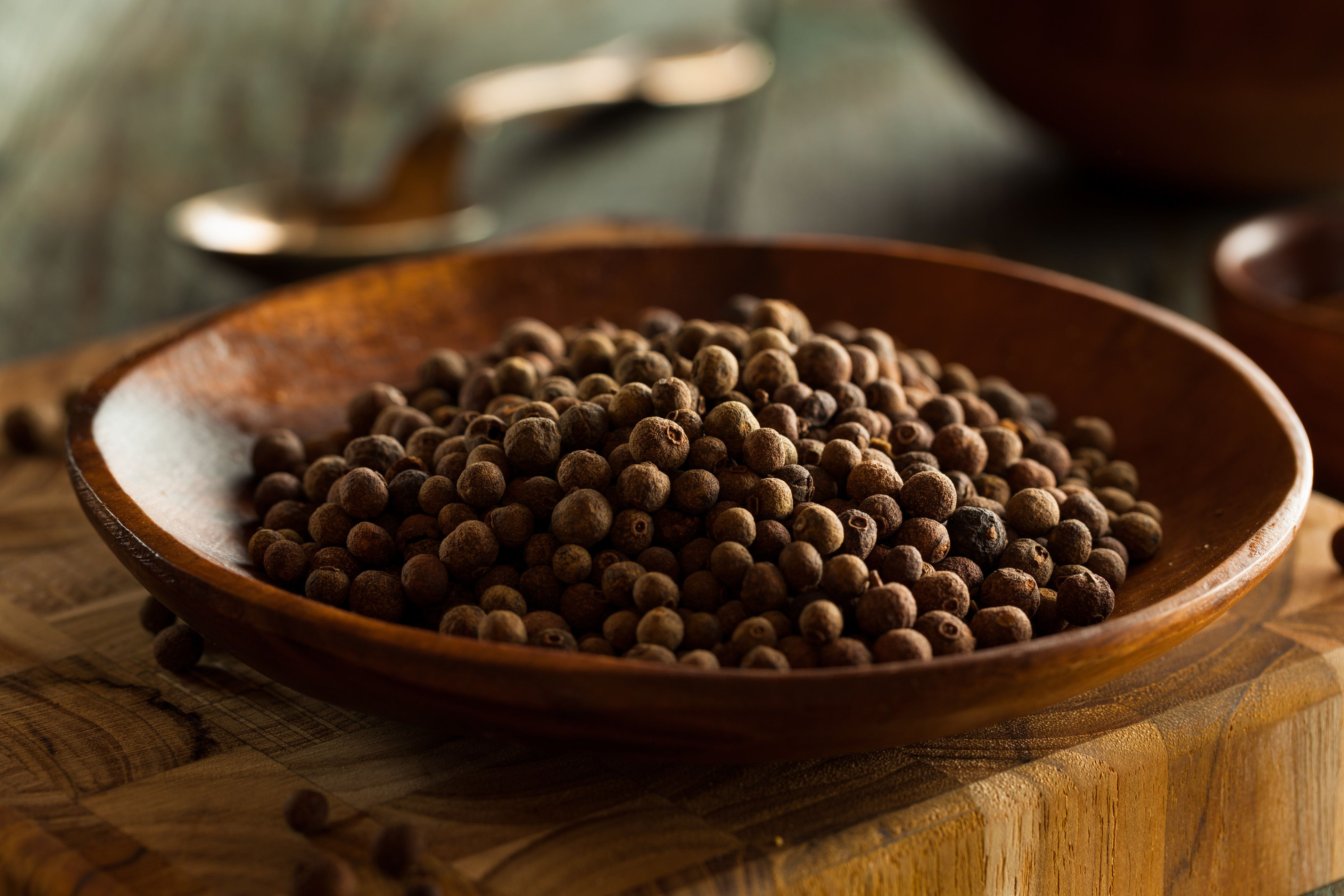 Raw Organic Brown Allspice Ready to Use