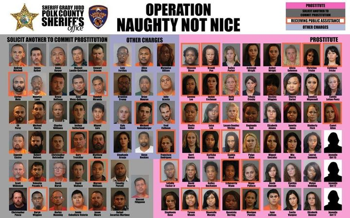 Prostitution Sting Nets 95 People, Including Man In French Maid