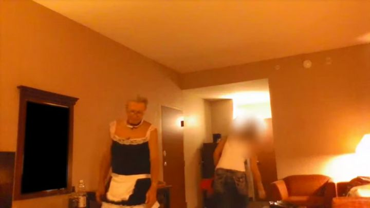 Authorities released a video allegedly showing Marsh meeting with an undercover detective in a hotel room.