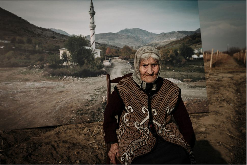 Mariam Sahakyan is now 101 years old, but she still recalls hiding from Turkish soldiers when she escaped from her homeland.
