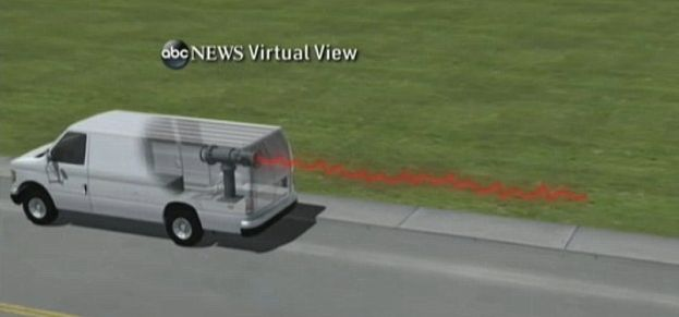 ABC News rendered a photo of the device Eric Feight planned to use.