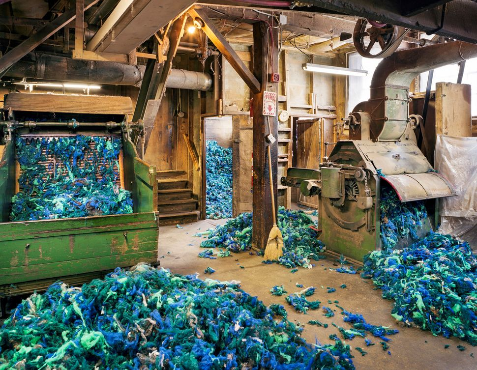 Technicolor Yarn Factory Photos Show Hope For American Industry