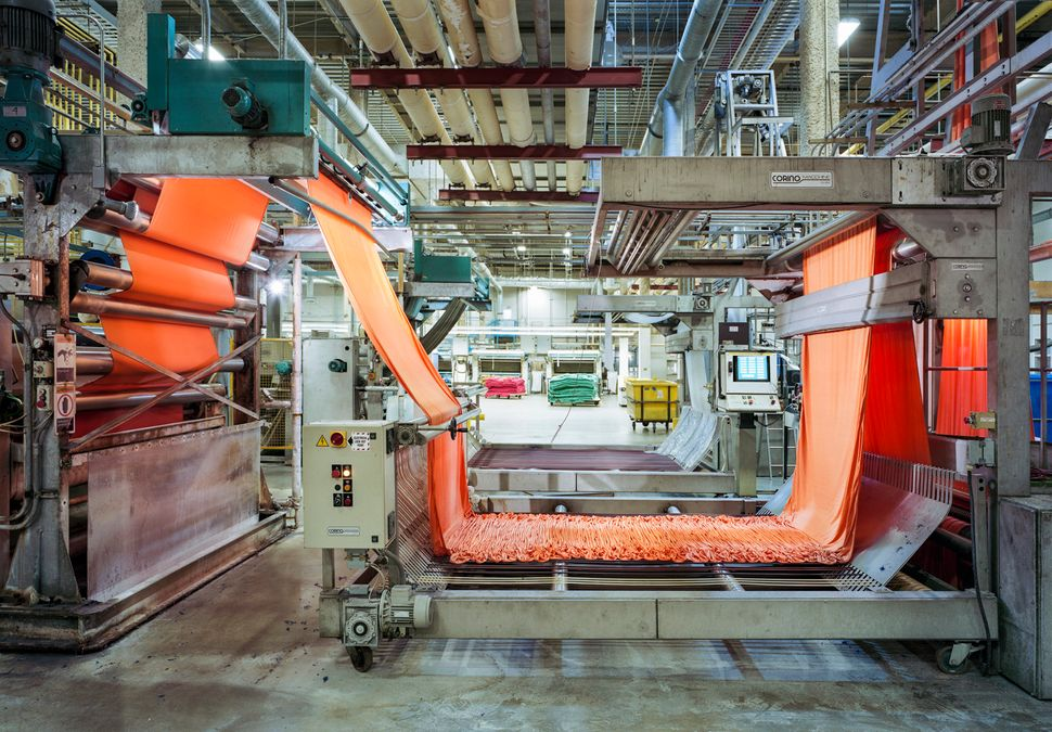 Technicolor Yarn Factory Photos Show Hope For American