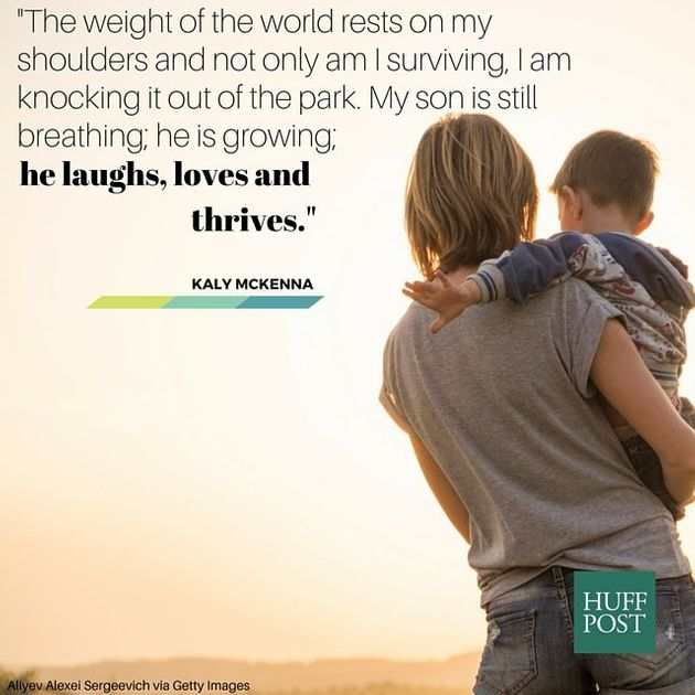 10 Quotes Every Exhausted Single Parent Needs To Read Huffpost