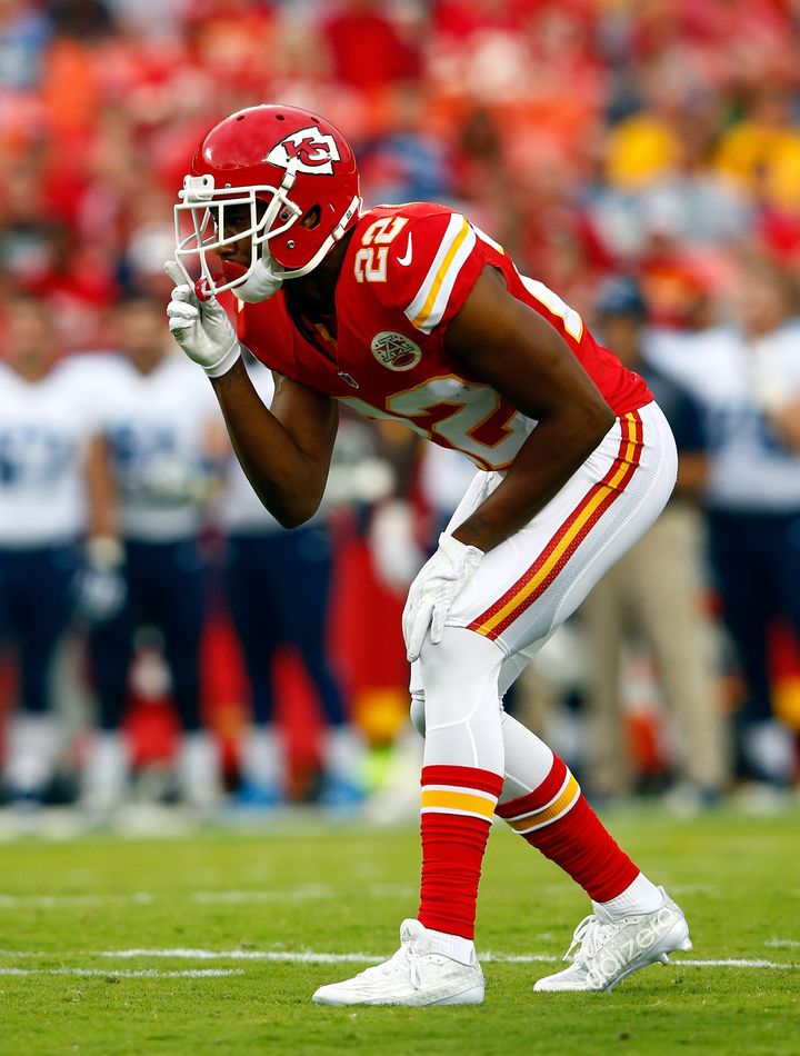 Kansas City Chiefs cornerback Marcus Peters is a front-runner for Defensive Rookie of the Year.