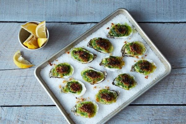 "<strong>Get the <a href=""http://food52.com/recipes/10842-these-oysters-rock-oysters-rockefeller"" target=""_blank"">Oysters Rock"