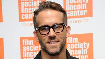 NEW YORK, NY - SEPTEMBER 22:  Actor Ryan Reynolds attends The Film Society of Lincoln Center sneak previews 'Mississippi Grind' at The Film Society of Lincoln Center, Walter Reade Theatre on September 22, 2015 in New York City.  (Photo by Desiree Navarro/WireImage)