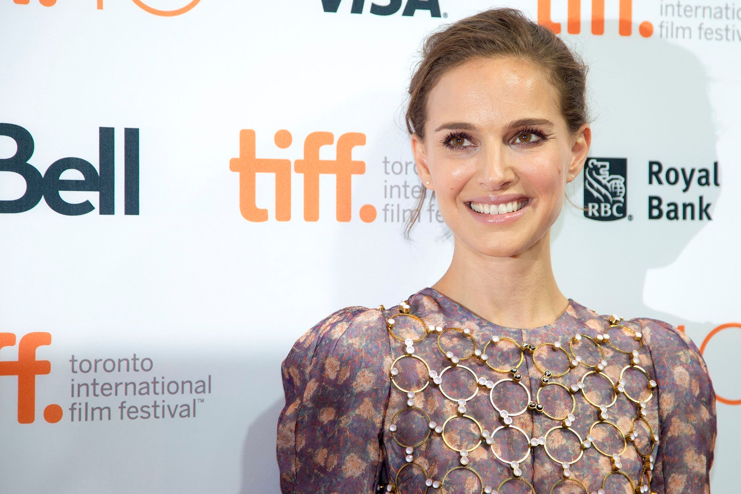 TORONTO, ON - SEPTEMBER 9  -  Actress Natalie Portman on the red carpet at the TIFF Bell Lightbox in Toronto on September 9, 2015. On the eve of TIFF's 40th year, Toronto's film buffs and celebrity obsessed gather at the Lightbox for an on-stage conversation with Natalie Portman. Carlos Osorio/Toronto Star        (Carlos Osorio/Toronto Star via Getty Images)