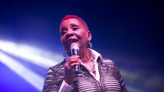 DETROIT, MI - AUGUST 15:  Iyanla Vanzant  speaks at Women's Empowerment Expo at Cobo Center on August 15, 2015 in Detroit, Michigan.  (Photo by Monica Morgan/WireImage)